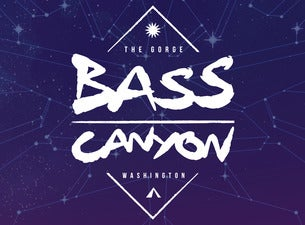 Bass Canyon - 3 Day Festival Pass - Ages 18+ Only!