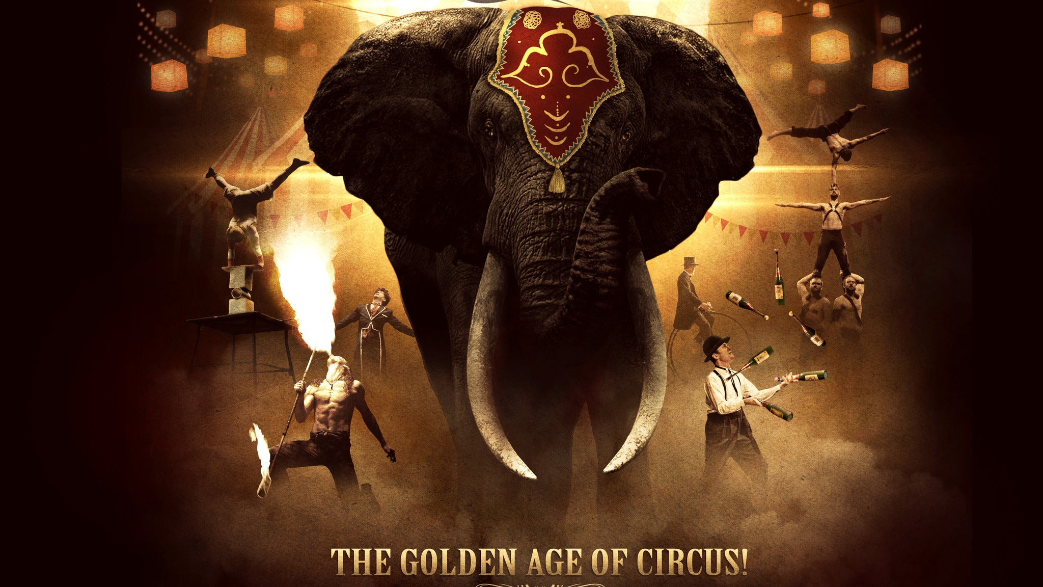 CIRCUS 1903 - The Golden Age of Circus at Fisher Theatre