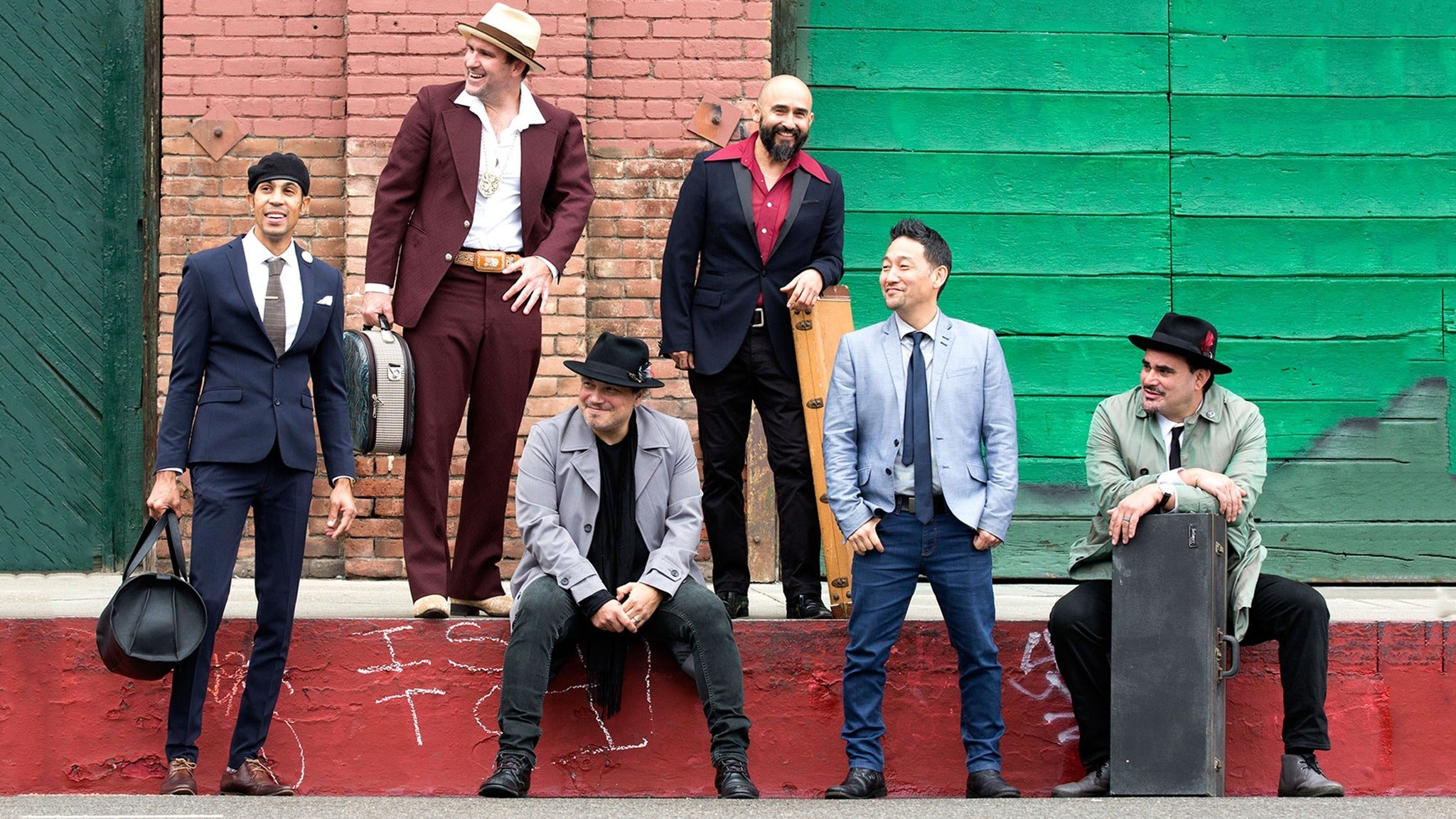 Ozomatli at Riverside Municipal Auditorium