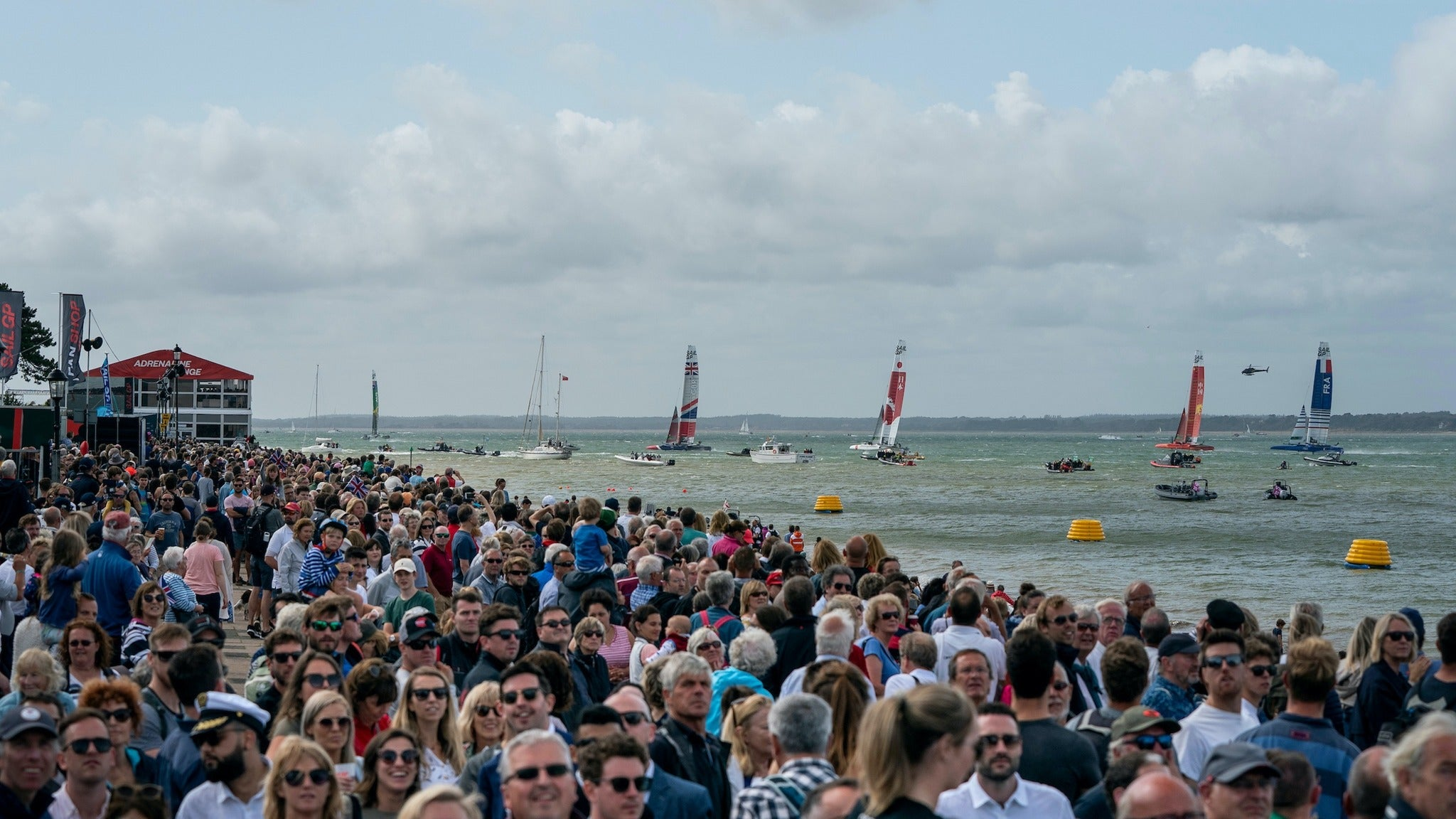 Cowes SailGP: 2 Day Spectator Boat Experience - On Water Go tickets (Copyright © Ticketmaster)