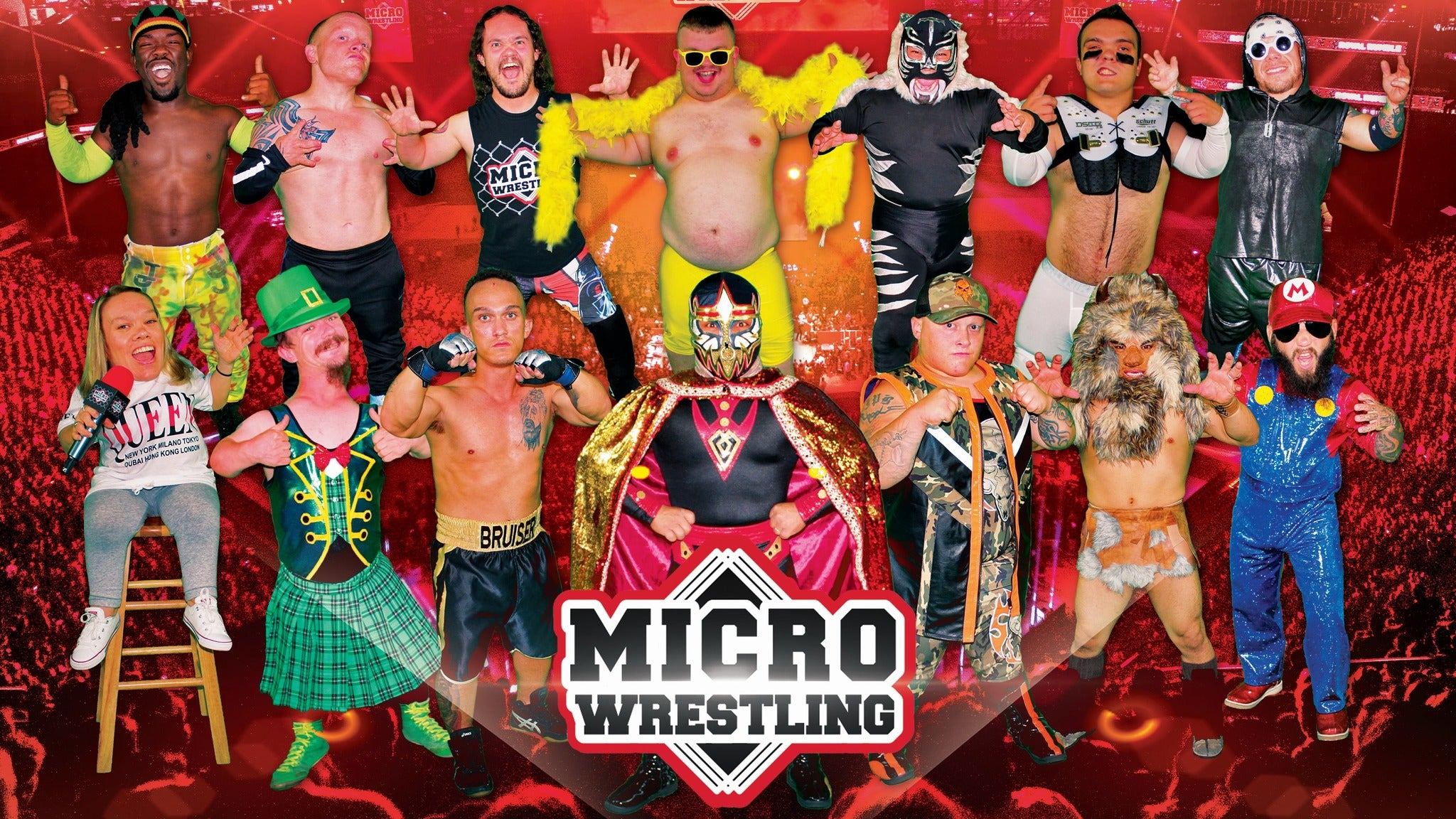 Micro Wrestling Federation at Ford Park
