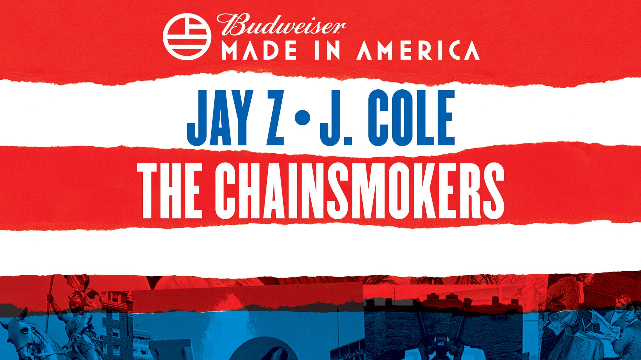 Budweiser Made In America Festival: 2 Day Pass: 9/2 & 9/3