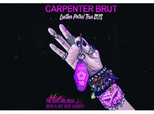 Carpenter Brut Tickets and Upcoming Dates - TicketSavages com