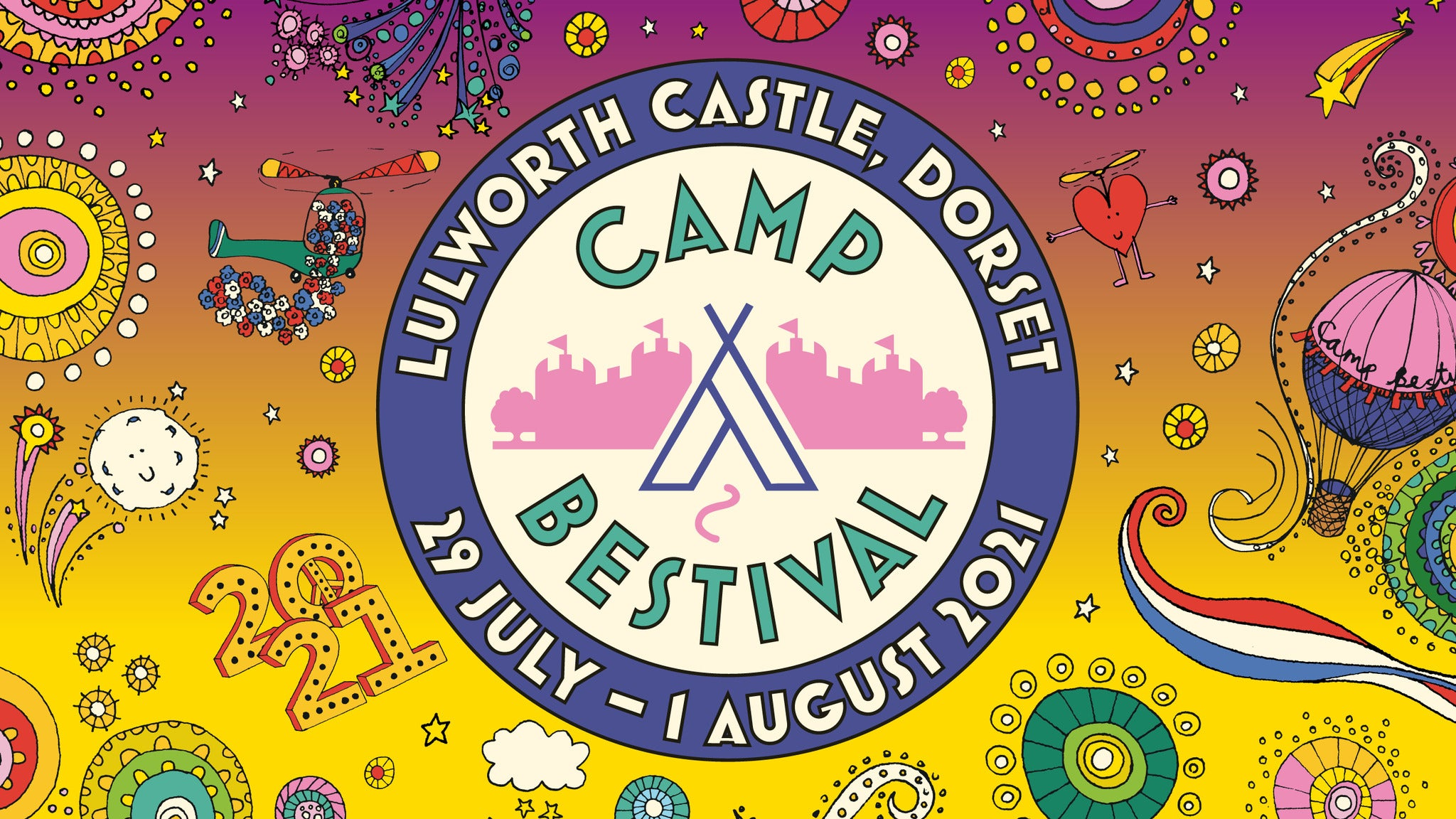 Camp Bestival Boutique - Classic Bell for 2, 3 or 4 tickets (Copyright © Ticketmaster)