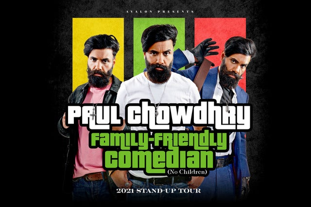 Paul Chowdhry: Family Friendly Comedian Seating Plan Eventim Apollo