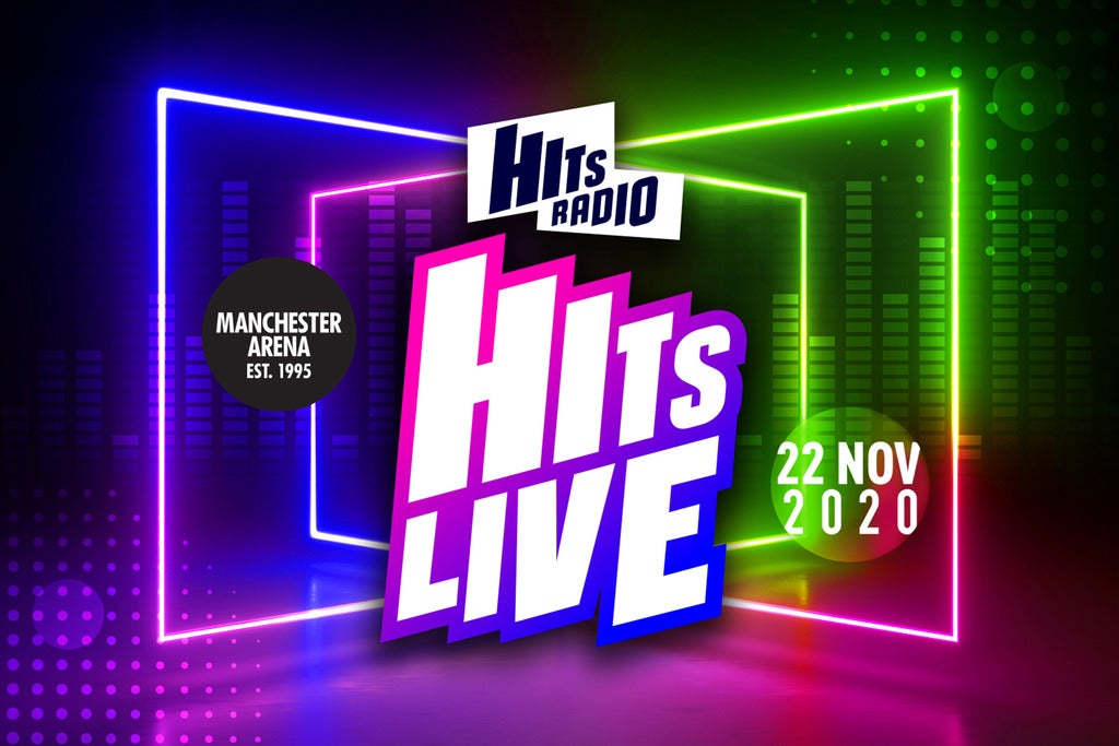 Hits Radio Live Manchester Arena Seating Plan