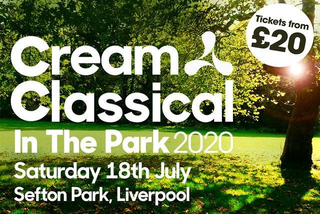 Cream Classical In the Park 2020