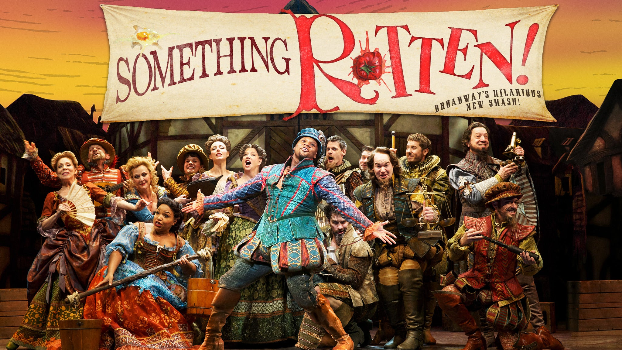 Something Rotten! at Ahmanson Theatre