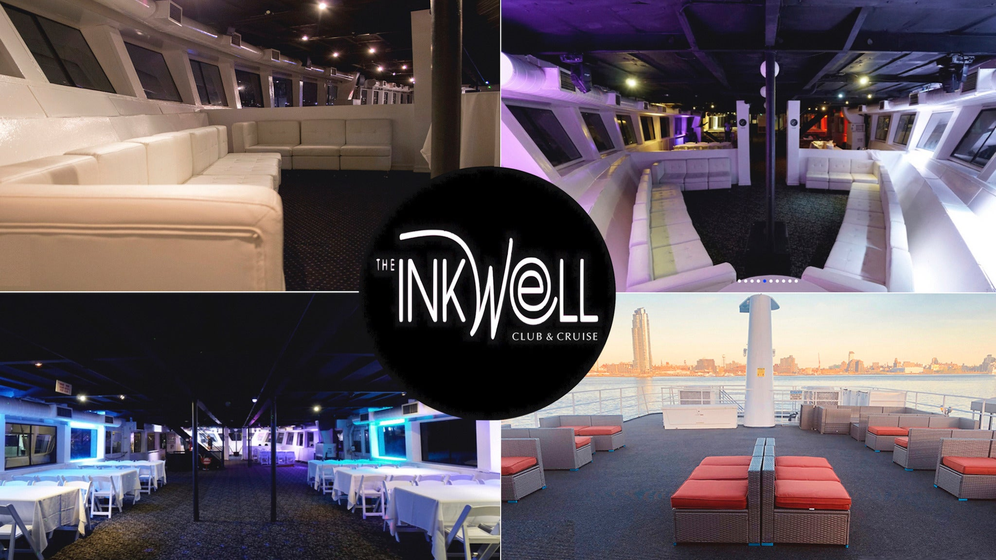 INKwell Tuesday After-Work Yacht Club White With A Splash of Blue Cruise