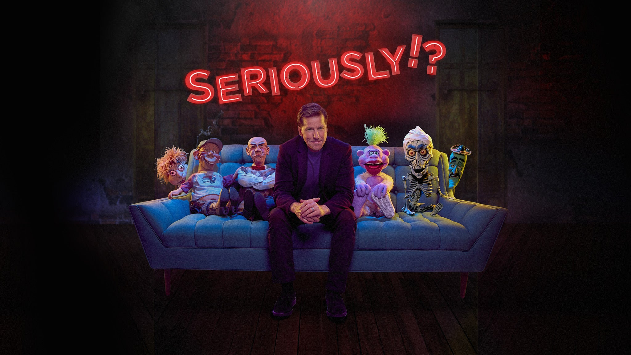 Jeff Dunham: Seriously!? at Mystic Lake Casino Hotel