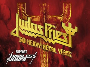 JUDAS PRIEST - 50 heavy metal years - Restaurangpaket & buffé, 2021-06-13, Лінчепінг