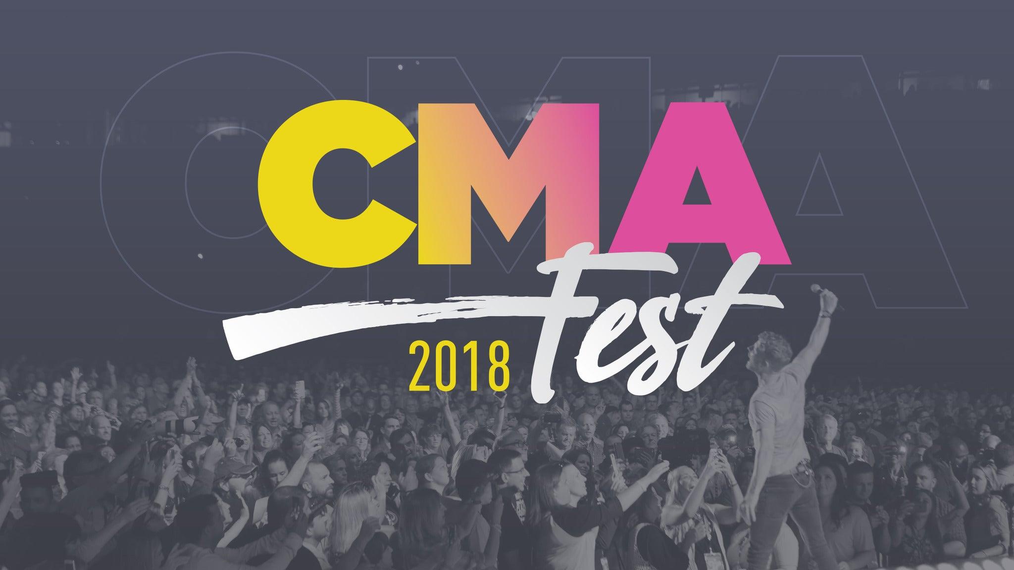2018 CMA Music Festival