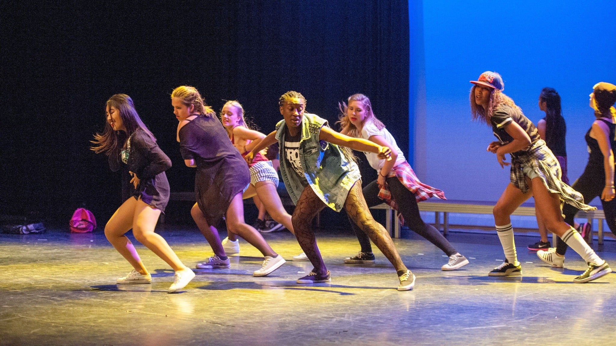 Swamp dance fest at McGuire Pavilion Black Box Theatre