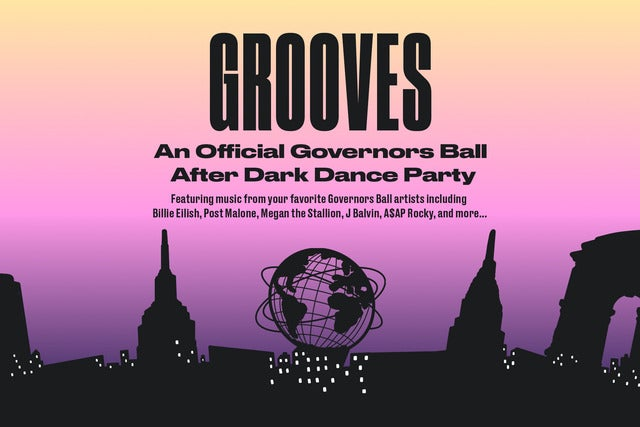 Grooves - An Official Gov Ball After Dark Dance Party