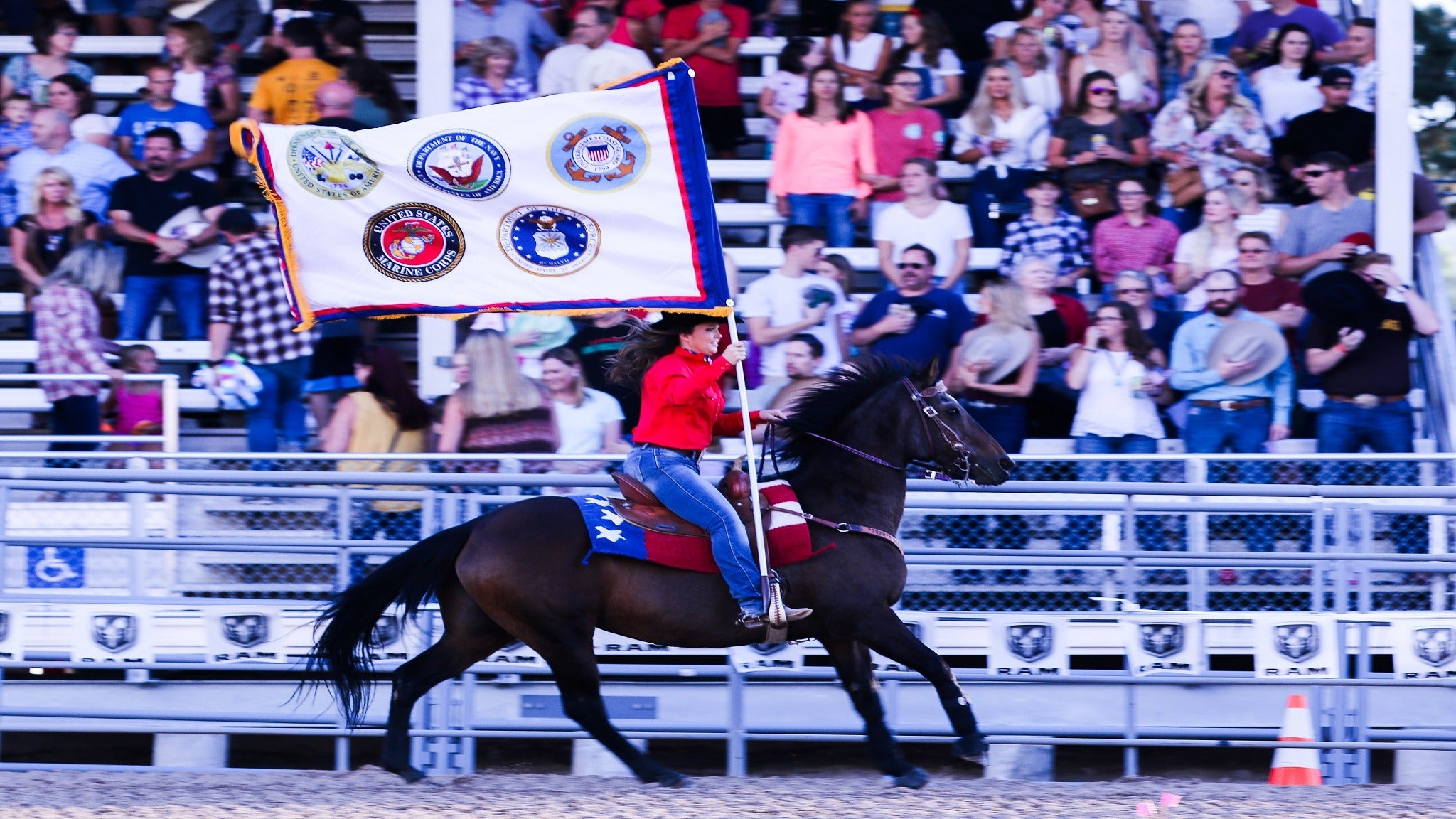 PRCA Rodeo -Patriot Night at Douglas County Fairgrounds