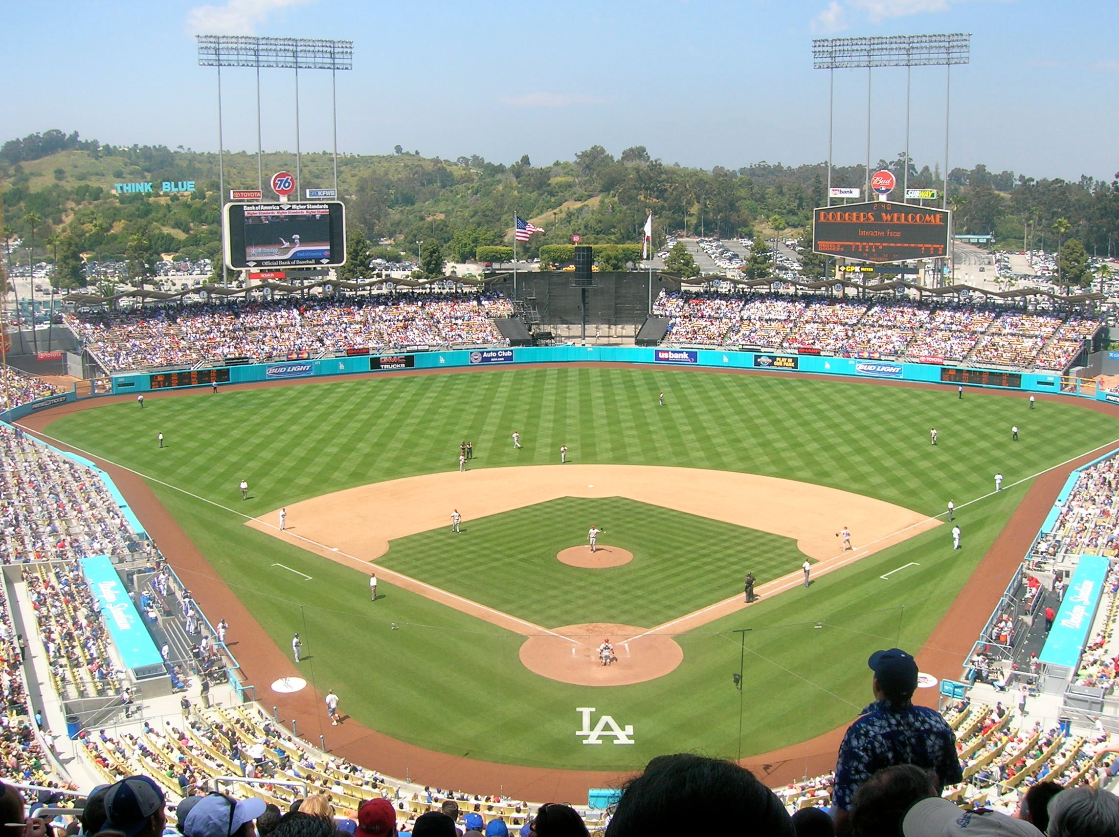 Dodger Stadium Los Angeles Tickets Schedule Seating