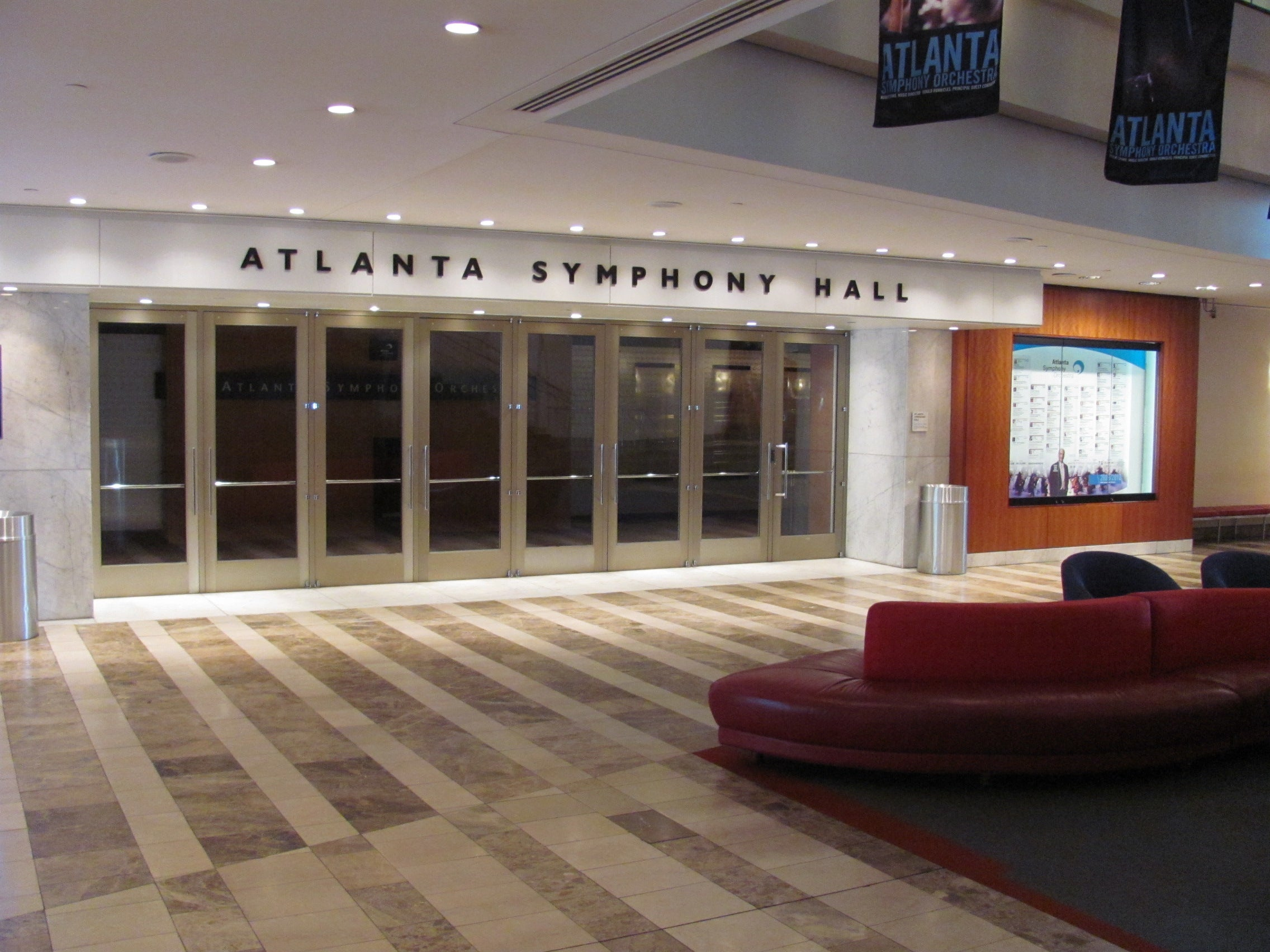 Atlanta Symphony Hall Tickets Schedule Seating Chart Directions