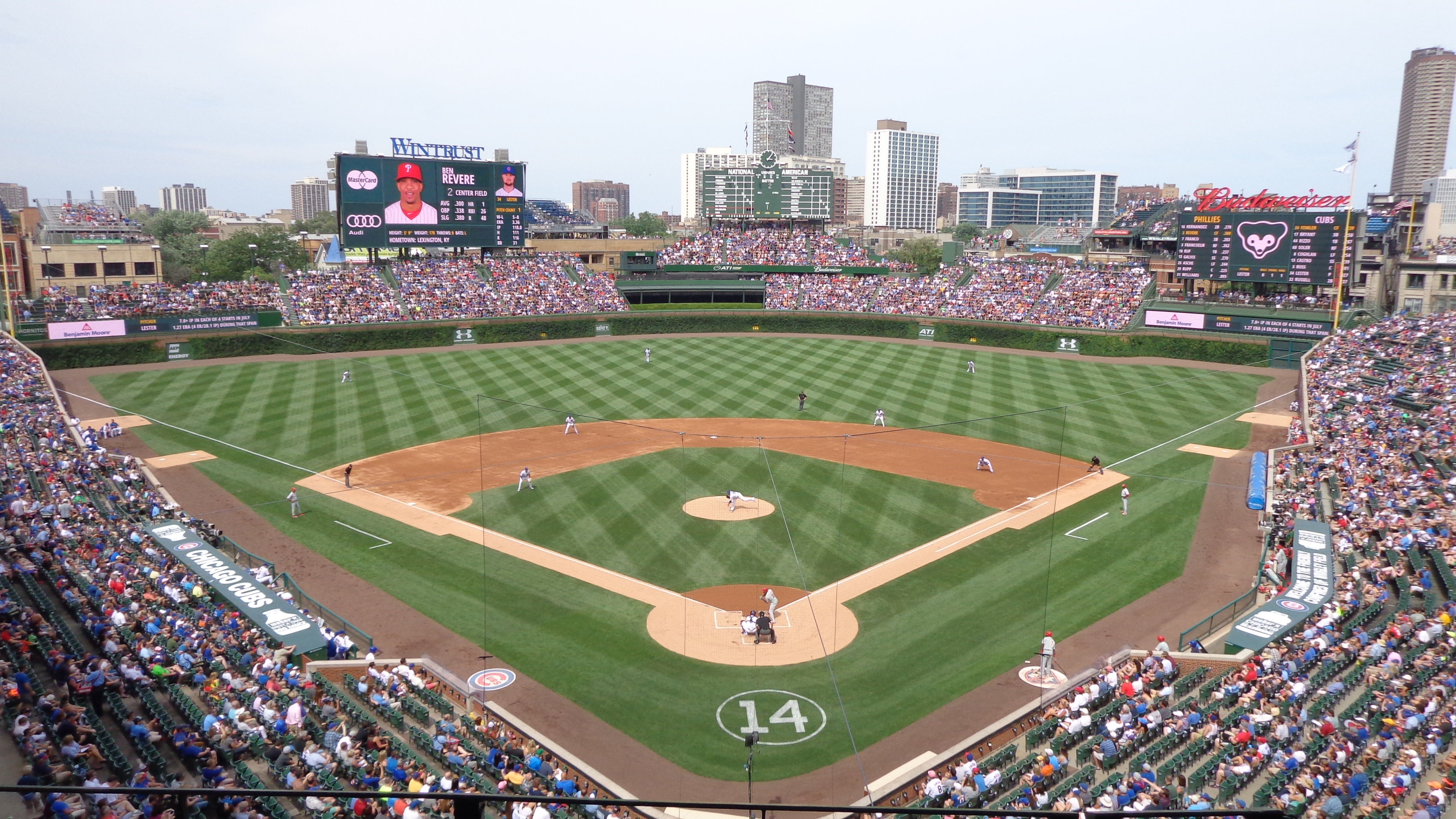 Wrigley Field - Chicago | Tickets, Schedule, Seating Chart, Directions