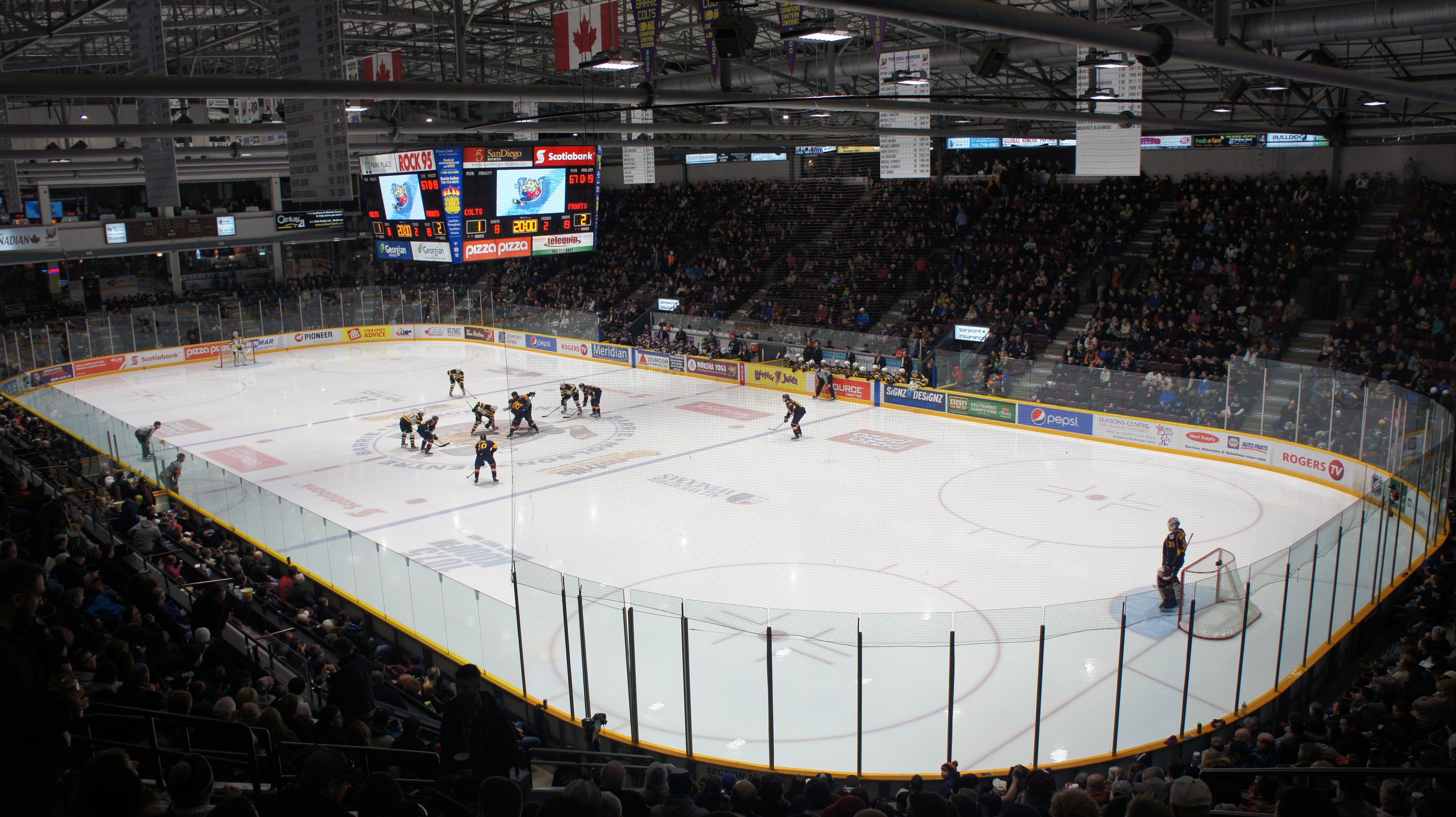 Sadlon Arena (formerly Barrie Molson Centre)