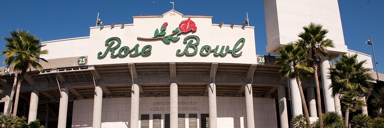 Rose Bowl Pasadena Tickets Schedule Seating Chart Directions