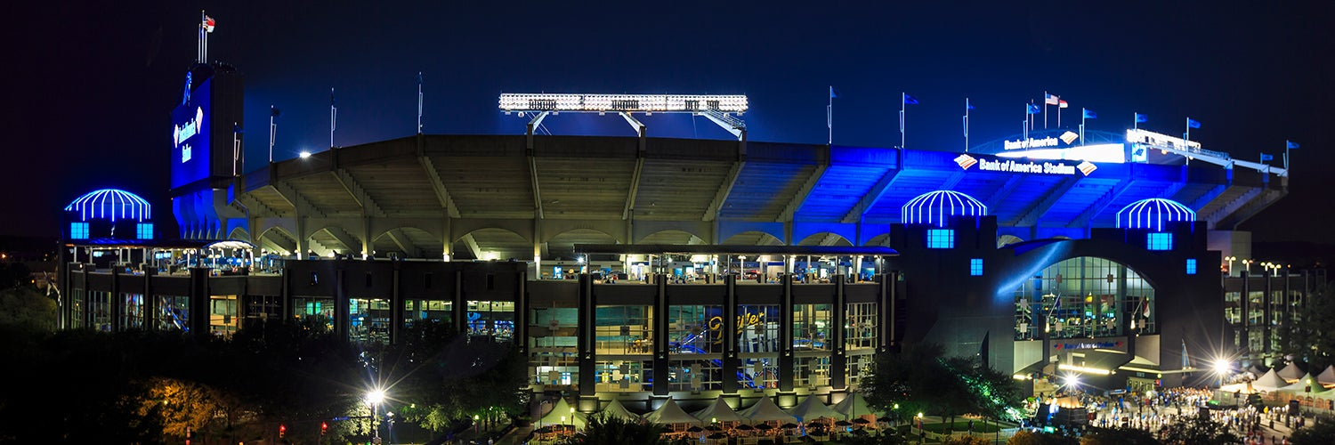Bank Of America Stadium Charlotte Tickets Schedule Seating Chart Directions