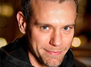 Adam Pascal with Seth Rudetsky at Parker Playhouse