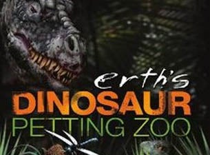 Erth's Dinosaur Petting Zoo at Loeb Playhouse