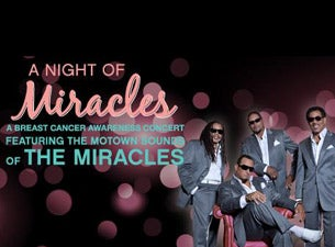 The Miracles at The Fox Theater at Foxwoods Resort Casino - Mashantucket, CT 06355