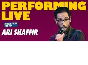 Ari Shaffir Presents The Wandering Jew Tour