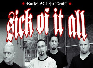 Sick Of It All tickets (Copyright © Ticketmaster)