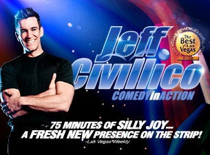 Jeff Civillico Comedy in Action | Las Vegas, NV | Bugsy's Cabaret at Flamingo | March 20, 2017
