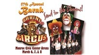 Barak Shrine Circus at Monroe Civic Center Arena