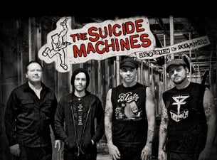 The Suicide MacHines with Left Alone at Constellation Room - Santa Ana, CA 92704