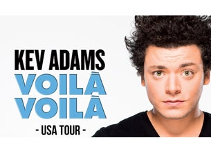 Kev Adams tickets (Copyright © Ticketmaster)
