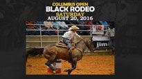 Columbus Open Black Rodeo at Columbus Civic Center