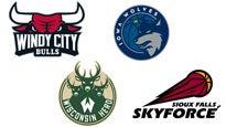 Nba G-League Preseason: Chicago V Iowa & Sioux Falls V Wisconsin
