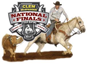 Clem McSpadden National Finals Steer Roping