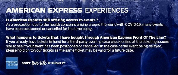 American Express Experiences