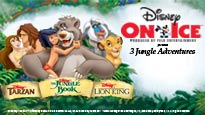 disney on ice 3 jungle adventures tickets event dates. Black Bedroom Furniture Sets. Home Design Ideas