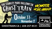 Stanley Park Halloween Ghost Train