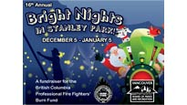 Stanley Park Bright Nights Christmas Train