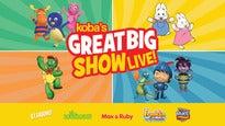 Koba's Great Big Show Live!