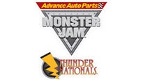 Advance Auto Parts Monster Jam Thunder Nationals