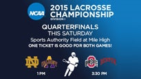 Ncaa Men's Lacrosse Quarterfinals