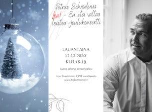 Petrus Schroderus Live! - Joulukonsertti