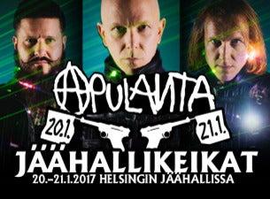 RADIO ROCK YLPEÄNÄ ESITTÄÄ: APULANTA - JÄÄHALLIKEIKAT