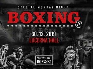Boxing Lucerna (galavečer profesionálního boxu a K1)