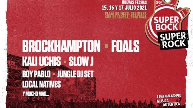 Super Bock Super Rock Festival 2021