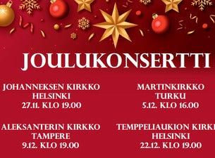 Perinteisiä joulukonsertteja
