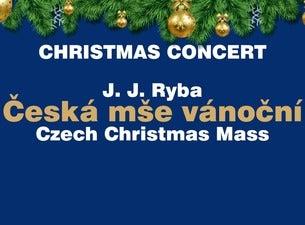 Vánoční koncert J.J. Ryba ČESKÁ MŠE VÁNOČNÍ